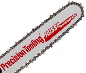 "The 25"" hard nose pro bar ""ROSSA"" and 3/8"" semi-chisel oregon chain Precision Tooling"